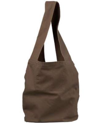 1911 Authentic Pigment 12 oz. Direct-Dyed Sling Bag JAVA