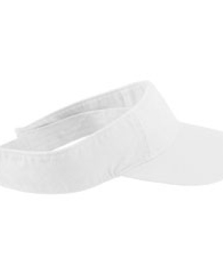 1915 Authentic Pigment Direct-Dyed Twill Visor WHITE