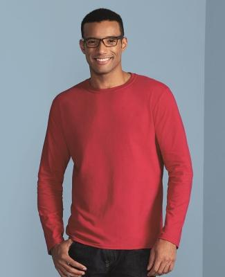 64400 Gildan Adult Softstyle Long-Sleeve T-Shirt