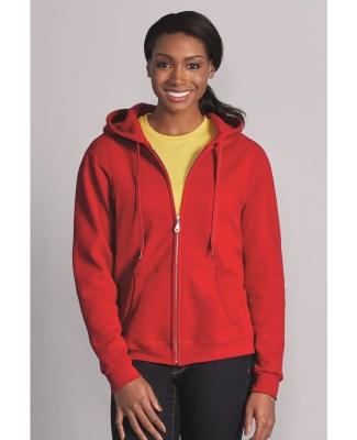 18600FL Gildan Missy Fit Heavy BlendFull-Zip Hooded Sweatshirt