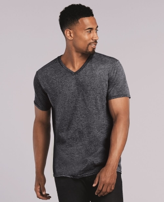 64V00 Gildan Adult Softstyle V-Neck T-Shirt