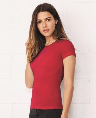 BELLA 6650 Womens Poly-Cotton T-Shirt Catalog