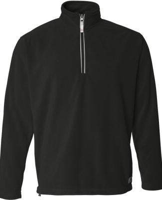Augusta Sportswear 1510 Rockvale Microfleece Quarter-Zip Pullover Black