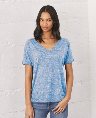 BELLA 8815 Womens Flowy V-Neck T-shirt Catalog