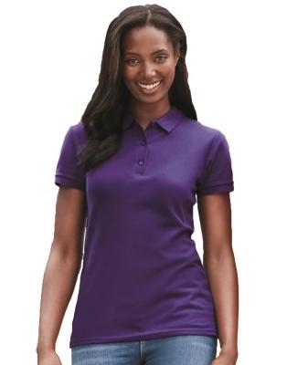Gildan 82800L Premium Cotton Ladies' Double Piqué Polo