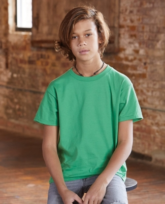 990B Anvil Combed Ring Spun Cotton Fashion Youth T-Shirt  Catalog
