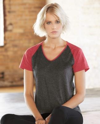 49 6770VL Ladies' Tri-Blend Raglan T-Shirt Catalog