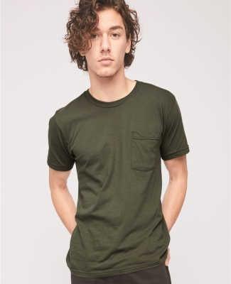 2406W Unisex Fine Jersey Pocket Short-Sleeve T-Shirt Catalog