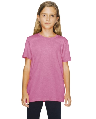 BB201W Youth Poly-Cotton Short-Sleeve Crewneck Catalog