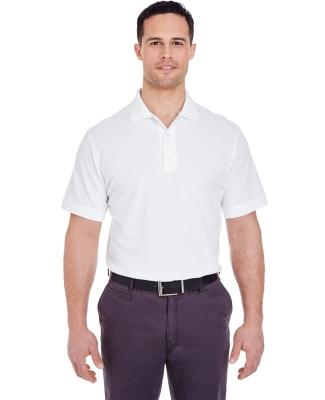8550 UltraClub Men's Basic Piqué Polo  WHITE