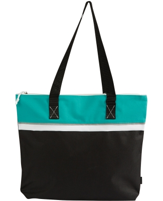 GL1610 Gemline Muse Convention Tote TURQUOISE
