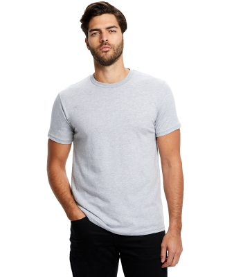 US Blanks US2000 Men's Made in USA Short Sleeve Crew T-Shirt HEATHER GREY