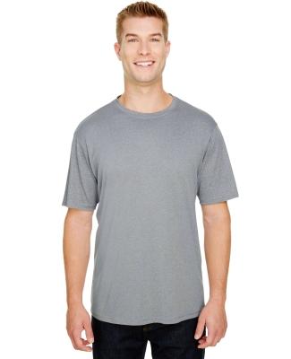 A4 Apparel N3381 Adult  Topflight Heather Performance T-Shirt ATHLETIC HEATHER