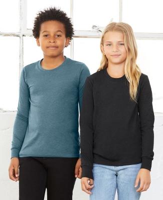 BELLA+CANVAS 3501Y Youth Long-Sleeve T-Shirt Catalog