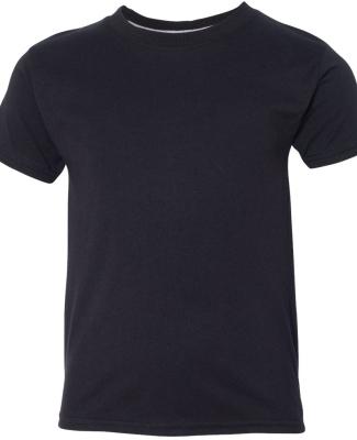 H420Y Hanes Youth X-Temp® Performance T-Shirt BLACK