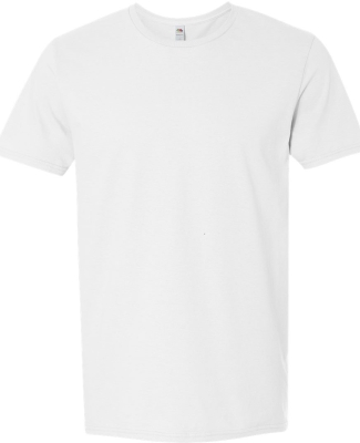 SF45 Fruit of the Loom Adult Sofspun™ T-Shirt WHITE