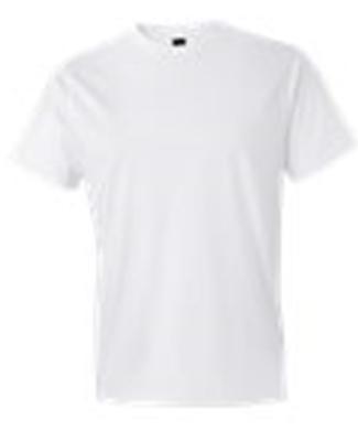 980 Anvil Combed Ring Spun Cotton T-Shirt WHITE