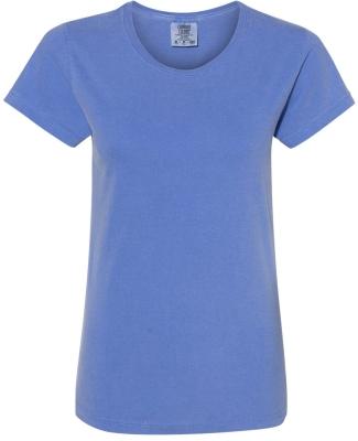 C3333 Comfort Colors Ladies' 5.4 oz. Ringspun Garm FLO BLUE
