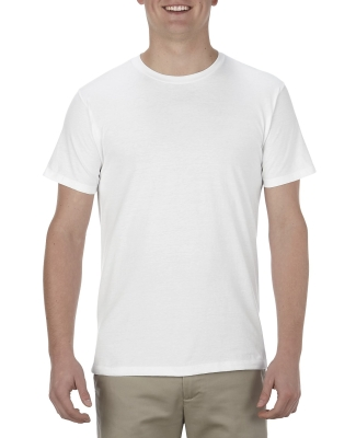 5301N Alstyle Adult Cotton Tee WHITE