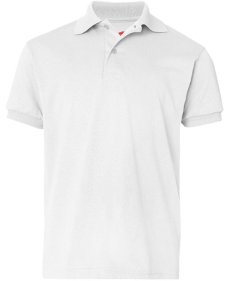 52 054Y Youth Ecosmart® Jersey Sport Shirt WHITE