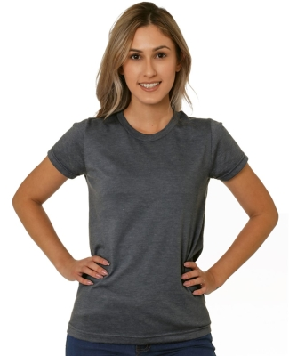 Bayside Apparel 5810 Women's USA-Made Tri-Blend Short Sleeve T-Shirt Catalog