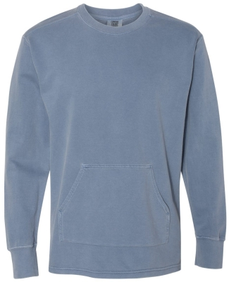 Comfort Colors 1536 French Terry Crewneck BLUE JEAN