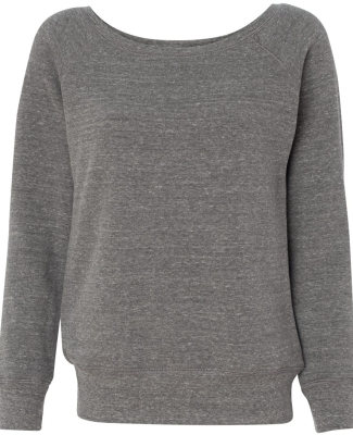 BELLA 7501 Womens Fleece Pullover Sweatshirt GREY TRIBLEND
