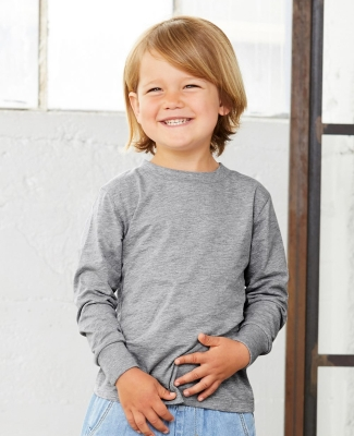 Bella + Canvas 3501T Toddler Jersey Long Sleeve Tee Catalog