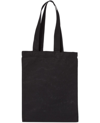 Liberty Bags OAD116 OAD Cotton Canvas Tote BLACK