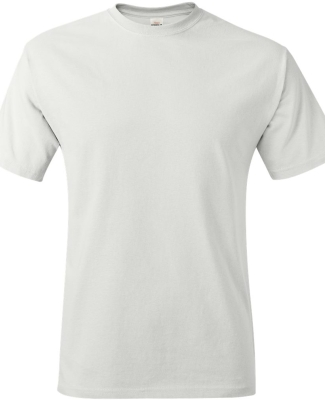 5250 Hanes Authentic Tagless T-shirt WHITE