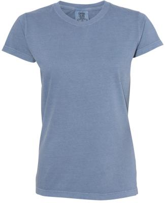 4200 Comfort Colors - Ladies' Ringspun Short Sleev BLUE JEAN