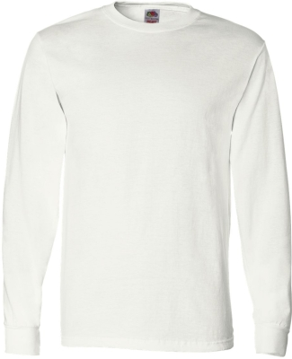 4930 Fruit of the Loom® Heavy Cotton HD Long Slee WHITE