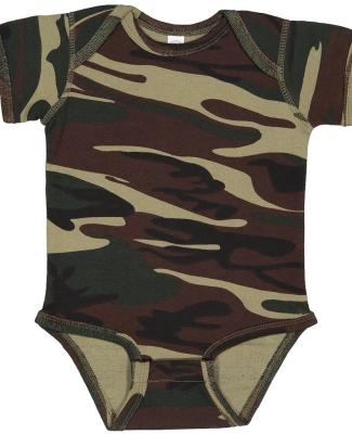 4403 Code V Infant Baby Rib Camouflage Lap Shoulde GREEN WOODLAND