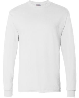 5286 Hanes® Heavyweight Long Sleeve T-shirt WHITE