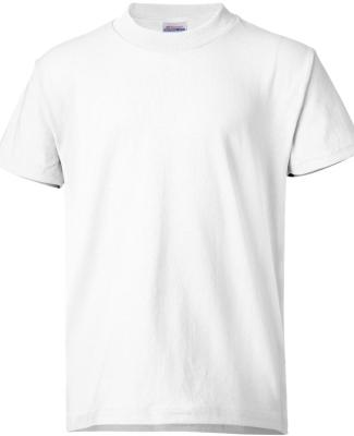 5370 Hanes® Heavyweight 50/50 Youth T-shirt WHITE