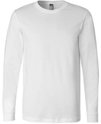 BELLA+CANVAS 3501 Long Sleeve T-Shirt WHITE