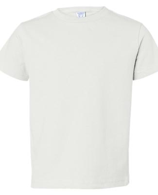 3301T Rabbit Skins Toddler Cotton T-Shirt WHITE