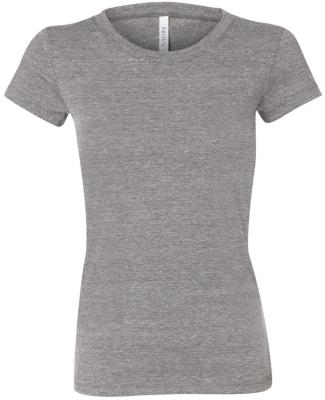 BELLA 8413 Womens Tri-blend T-shirt GREY TRIBLEND