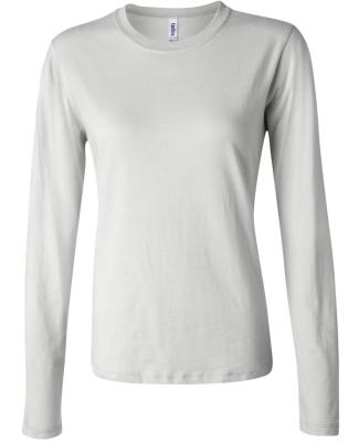 BELLA 6500 Womens Long Sleeve T-shirt WHITE