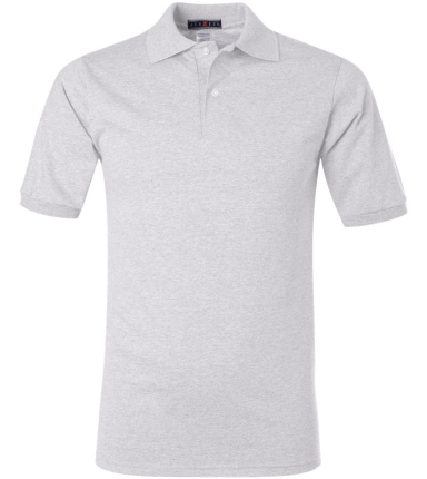 Jerzees® Jersey Sport Shirt with SpotShield™ Ash