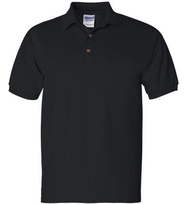 2800 Gildan 6.1 oz. Ultra Cotton® Jersey Polo BLACK