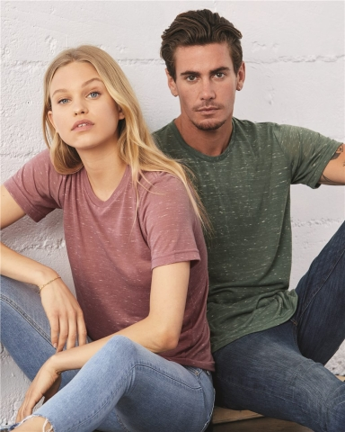 BELLA+CANVAS 3650 Mens Poly-Cotton T-Shirt Catalog