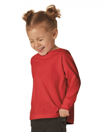 RS3302 Rabbit Skins Toddler Fine Jersey Long Sleeve T-Shirt Catalog