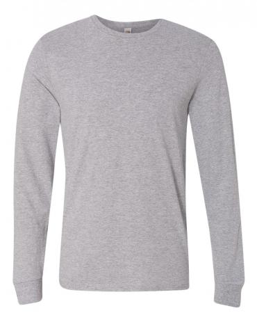 SFL Fruit of the Loom Adult Sofspun™ Long-Sleeve T-Shirt  ATHLETIC HEATHER