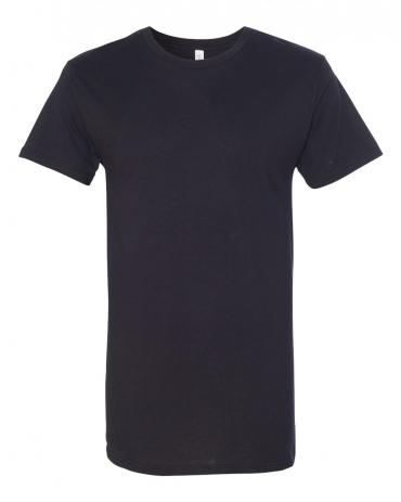 BELLA+CANVAS 3006 Long T-shirt BLACK