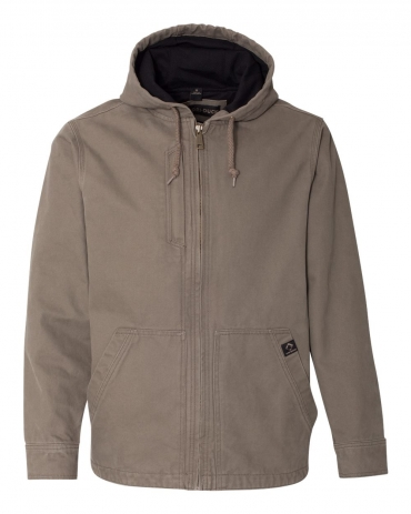 DRI DUCK 5090 Laredo Boulder Cloth™ Canvas Jacket with Thermal Lining GRAVEL