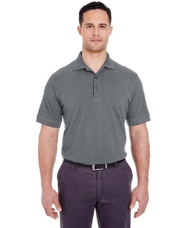 8550 UltraClub Men's Basic Piqué Polo  CHARCOAL