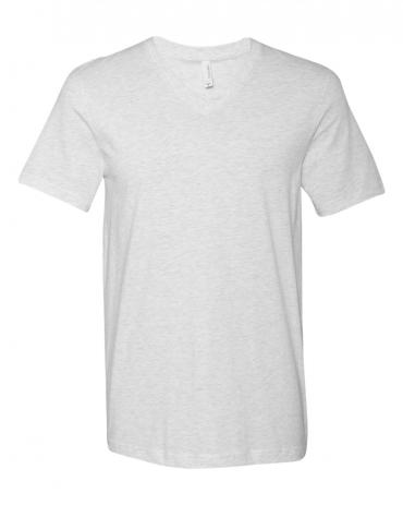 BELLA+CANVAS 3005 Cotton V-Neck T-shirt ASH