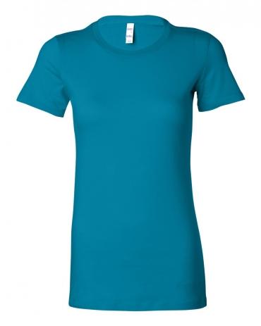 BELLA 6004 Womens Favorite T-Shirt AQUA