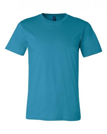 BELLA+CANVAS 3001 Soft Cotton T-shirt AQUA